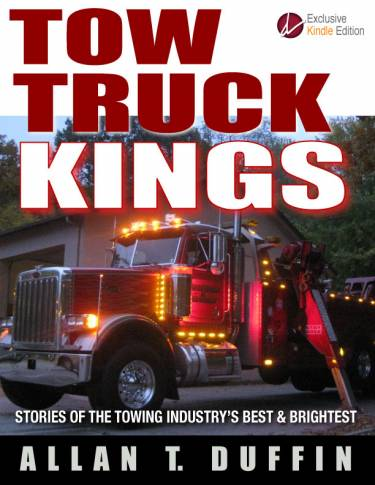 Bob's on the front cover of Allan Duffin's newest towing & recovery masterpiece!